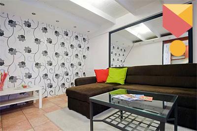 Dob utcai Airbnb lakás.